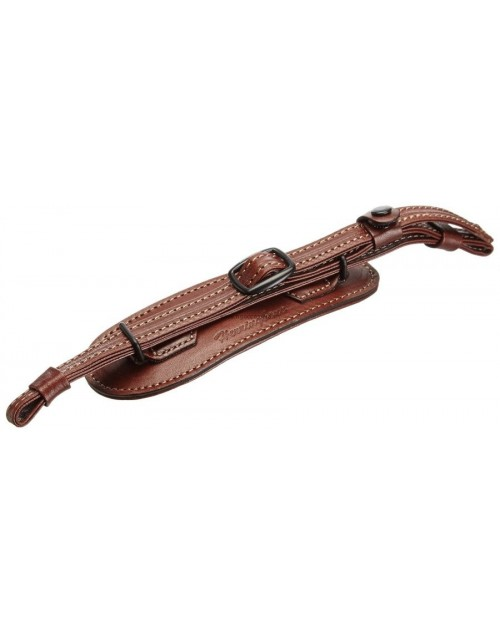 Herringbone Heritage Hand Grip Type 1 Hand Strap - Brown