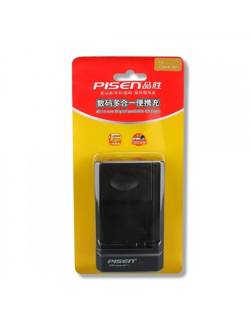 Sạc Pin Pisen 4 in 1 For Canon