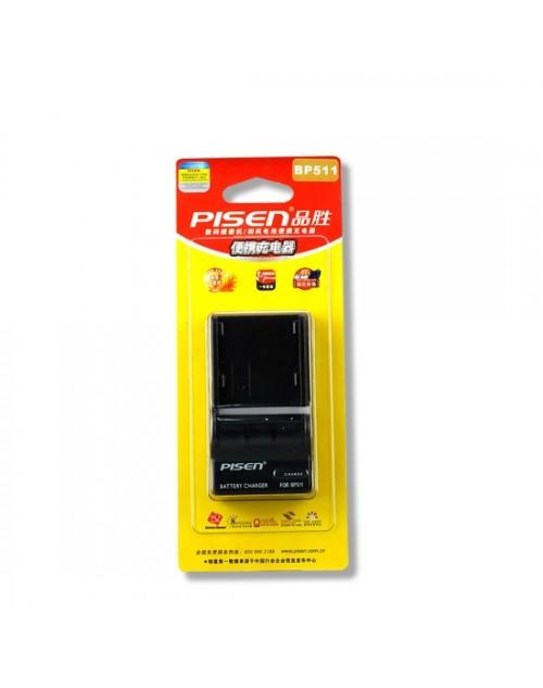 Sạc Pin Pisen BP-511A For Canon