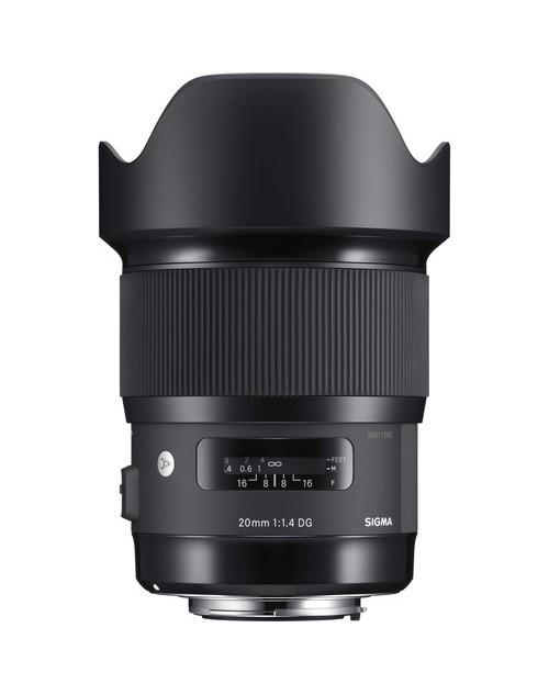 Sigma 20mm f1.4 DG HSM Art for Canon/Nikon - Chính hãng