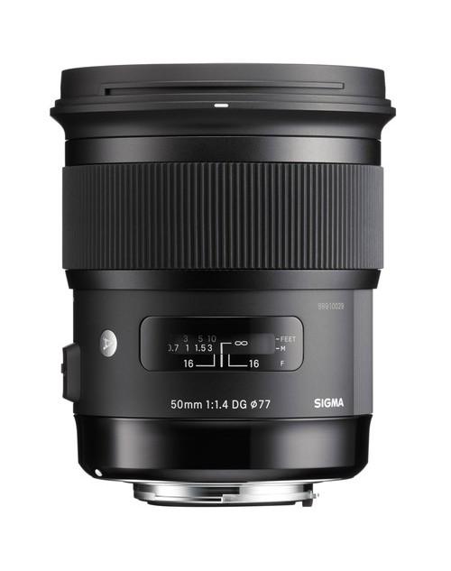 Sigma 50mm F1.4 DG HSM Art for Canon/Nikon