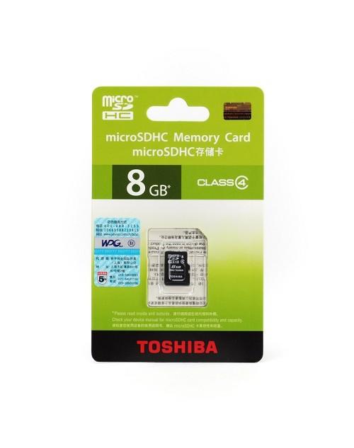 Toshiba MicroSD 8GB Class 4 - CHính hãng